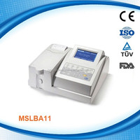 Stable quality ,Semi-automatic Clinical Biochemistry Analyzer Device MSLBA11H