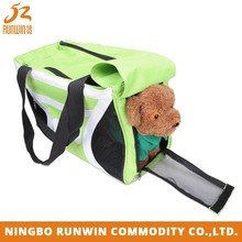 9 Years Manufacture Experience Foldable Green portable dog carrier