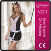 Plus size maid costume photo sexy ladeis uniform