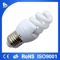 Hangzhou with CE and ROHS Approved ! T3 5W Full Spiral energy saving light bulb