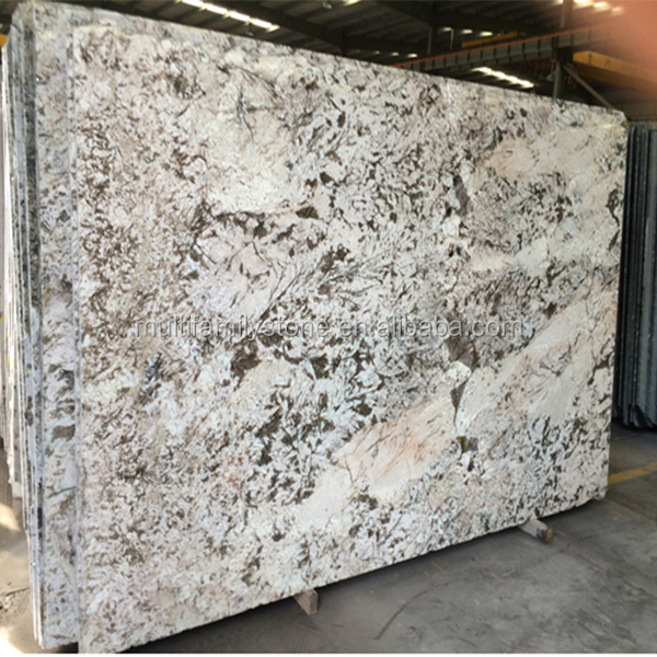 White Bianco Venus Granite stone Slab