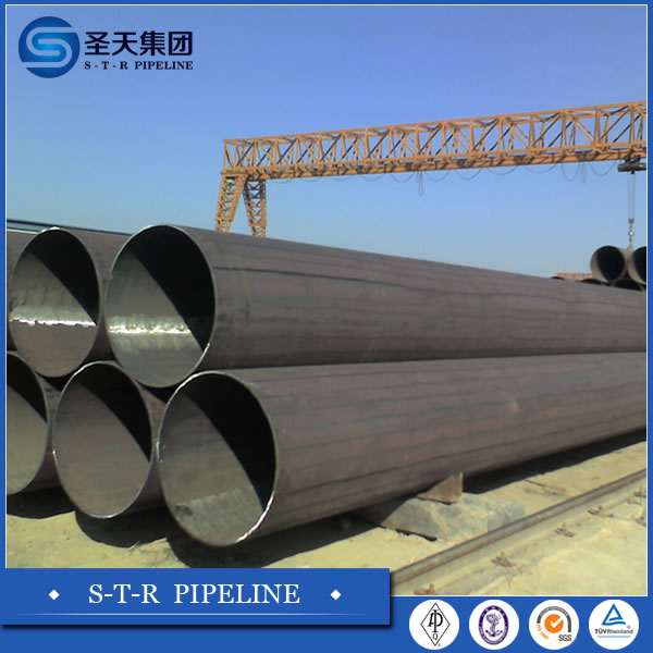 Oil Gas Sewage Transport ERW steel line pipe for gas