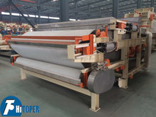 Sludge dewatering belt filter press machine with high quality, effect is very good