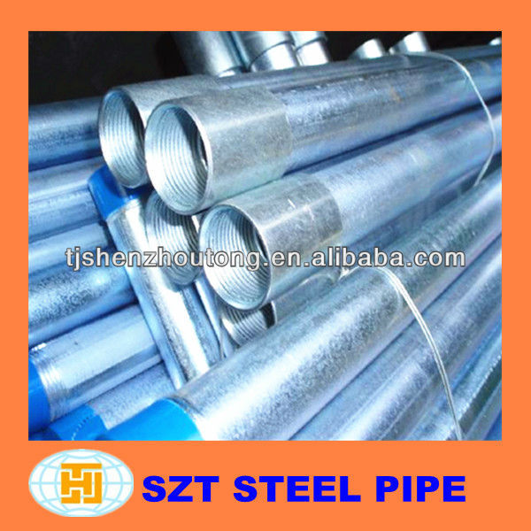 inner threaded galvanized steel pipe