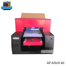 A3 Promotion Price UV Coating UV 3d Metal Printer Machine