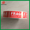 "1""x3"", 2""x3"" Self Adhesive Pre-printed Warning Shipping Labels Fragile Sticker For eBay"