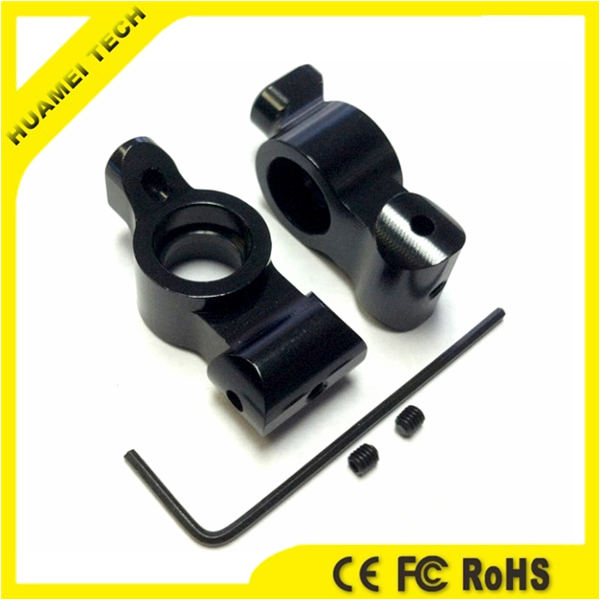 Black Anodized CNC Turned Digital Camera Spare Parts