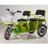 Hot Sale ! Three Wheel Battery Operated Electric Tricycle For Passenger