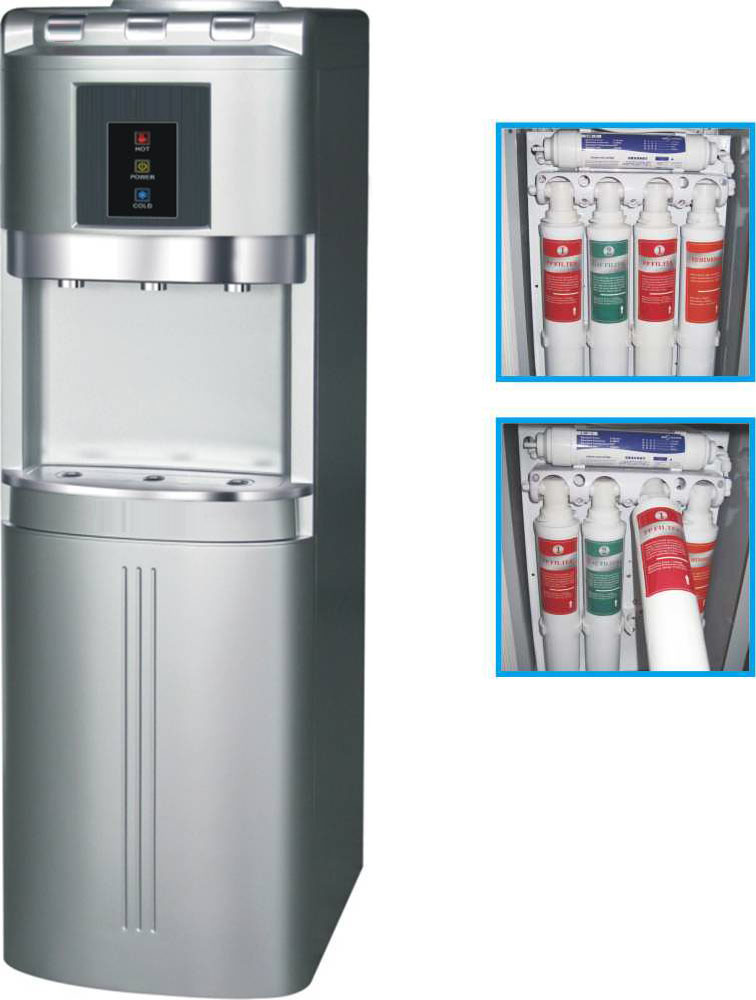 American High Quality Design 5 Stage Home Water Purifier System without Pump Pure Water Machine ZY-122B