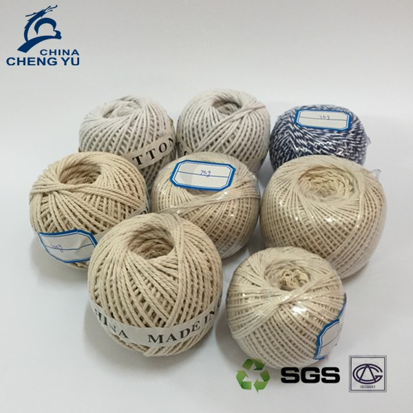 Recycled cotton yarn twine ball cotton thread ball