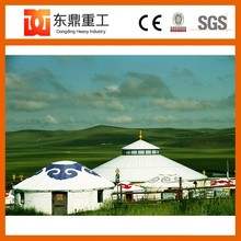Happy farmhouse type mongolian yurt/mongolian ger with good colour