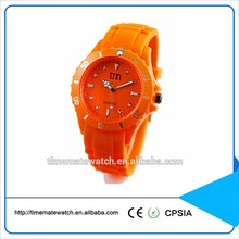 MK style fashion jelly silicone women watch quartz silicone geneva watch