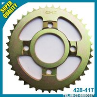 428 motorcycle chain sprocket.Super quality #45 material!!