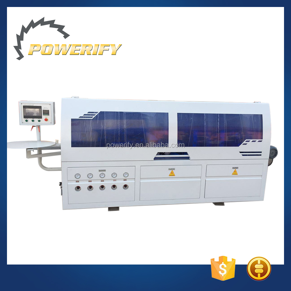 Powerify Brand Woodmaking Machinery MF505Q Automatic Mdf Edge Banding Machine Edge Trimming Machine
