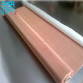 Micron copper wire mesh for filtration
