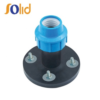 PP Compression Fittings Flanged Adaptor