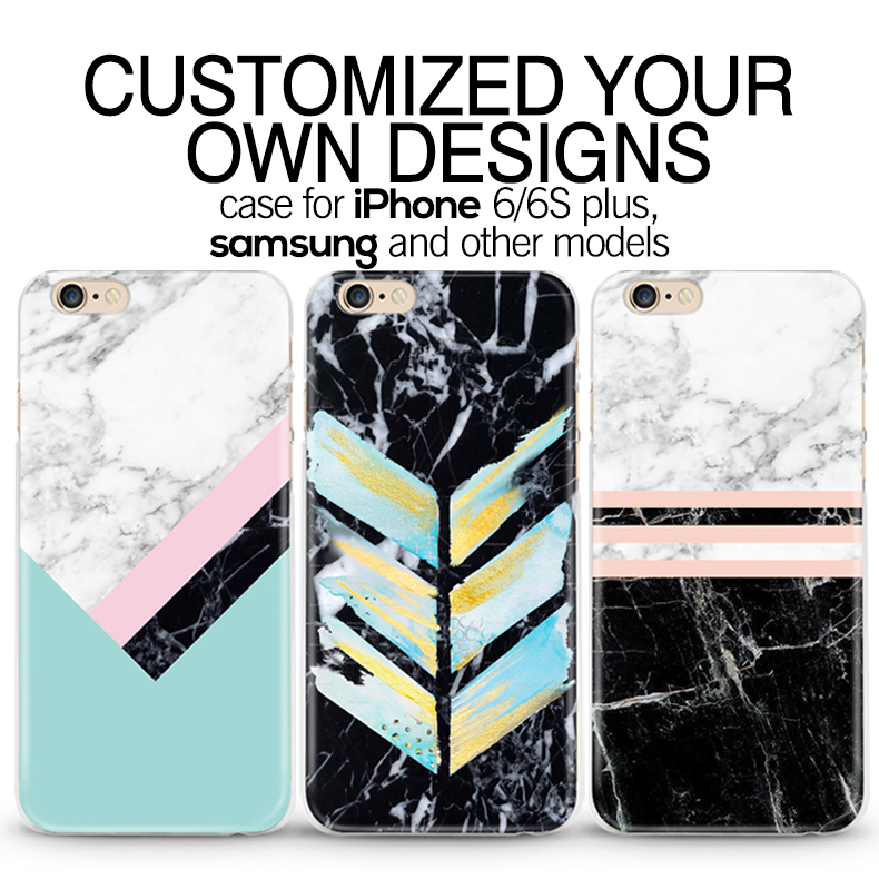 Full printing mix design glossy matt transparent tpu imd silicon case for iphone 6S 6 plus 5 marble phone case for iphone 7 plus