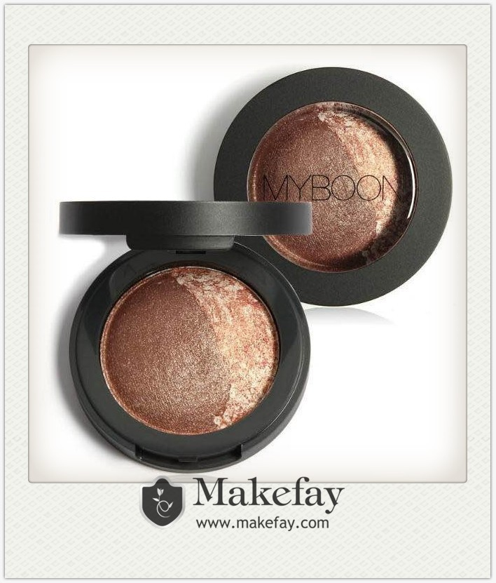 Customized private label singe color baked powder eyeshadow