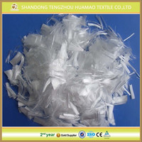 1, 3, 6 mm polypropylene concrete fiber