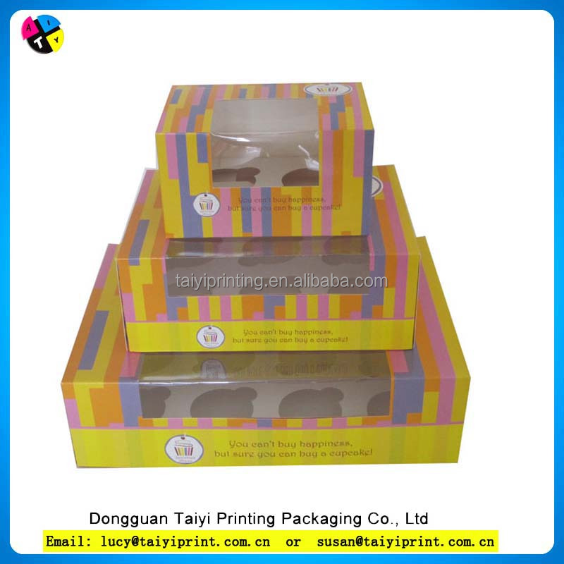 24 giant paper cupcake box for cupcake