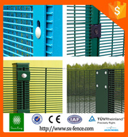 China Supplier Easily Assembled Powder Coated Heat Treated Metal Security 358 fence