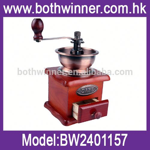 hand operated coffee grinder ,SW011 sanitary stainless steel grinder , hand powered coffee mill