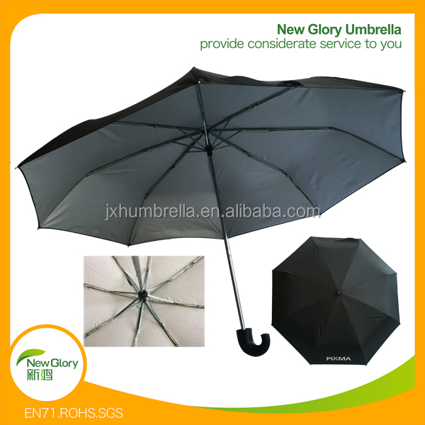 Buy Bulk Umbrellas 3 Fold Flat Sunshade Umbrella Parasol