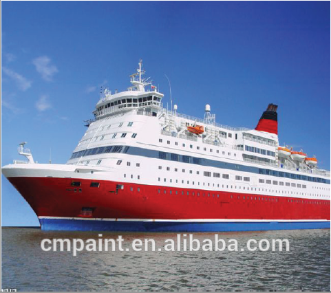 Boat usage Chlorinated rubber anti-fouling paint (Marine paint for ship bottom)