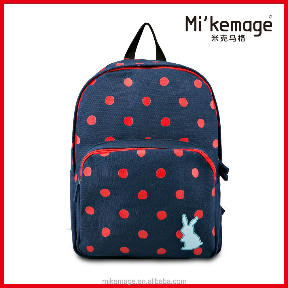 Fashion Canvas Ladies Elegant Backpack