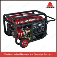 Zhejiang Lingben 2Kw Portable Power Generator With Handles And Wheels LB3500--B