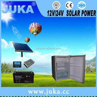 2016 JUKA solar energy 12v fridge 50 litre mini fridge