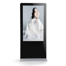Easy-to-use 55inch free standing digital signage lcd advertising kisok display