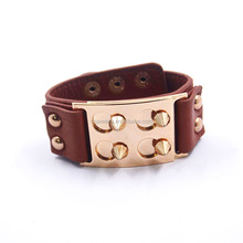2017 wholesale new design italian style woman's leather bracelets