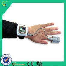 Automatic Disposable SpO2 Value Display Real-time Data Transmitted Wrist Oximeter with Bluetooth