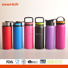 Everich cutom sports double wall vacuum stainless steel water bottle