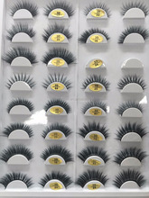 hand-made strips eyelashes 3D false eyelashes high quality cruelty free mink lashes