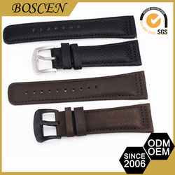 Beautiful Custom Design Big Price Drop Wide Leather Straps For Watches