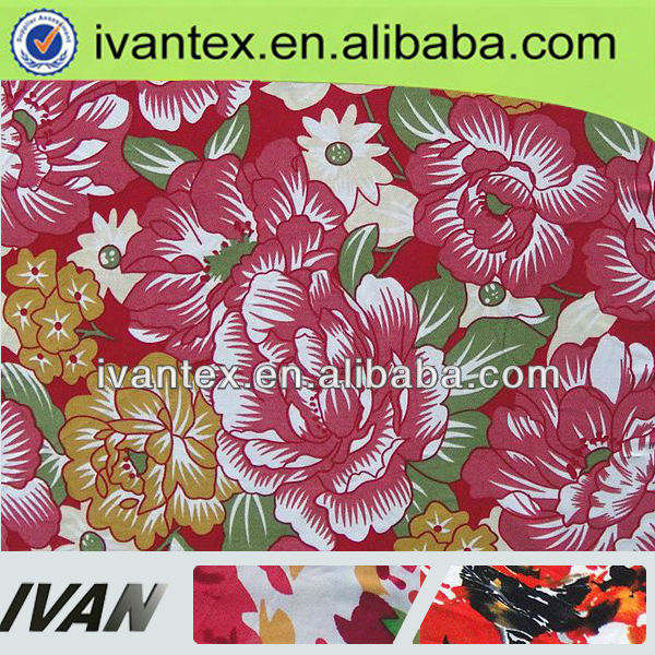 2013 Fashion new design pretty soft spandex tr jersey fabric