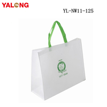 Custom design reusable non woven foldable shopping promotion bag