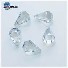 Pujiang crystal beads manufacturers teardrop loose bead wholesale price glass bead
