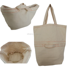 Top quality custom canvas tote bag
