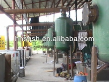 Used Rubber Recycling Machine Based on New Pyrolysis Technology