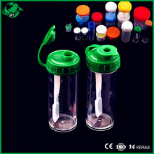 plastic hospital stool sample container with or without label