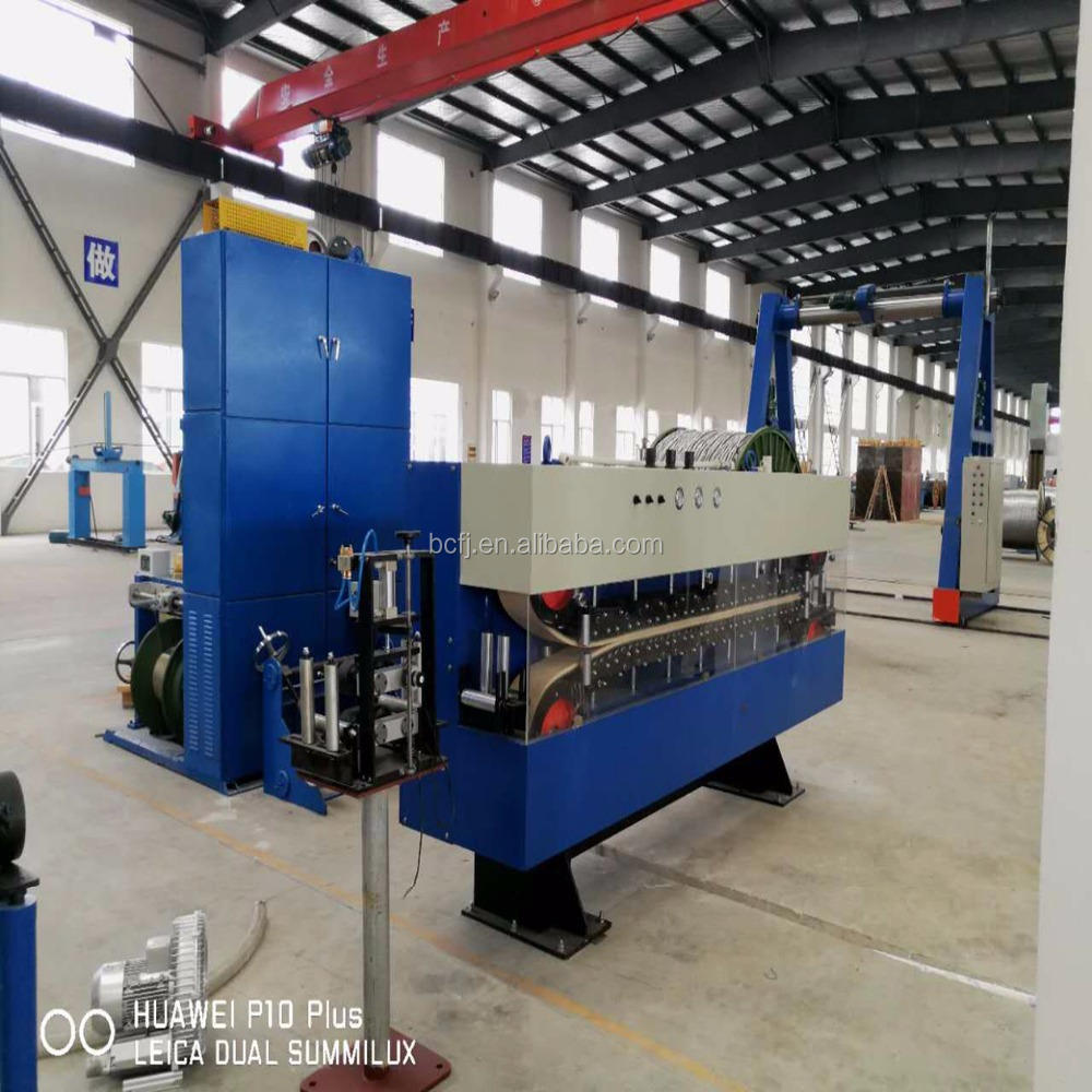 Power cable extruding machine