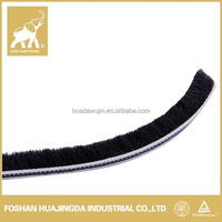 aluminum window sealing strip/ wool pile/weather stripping