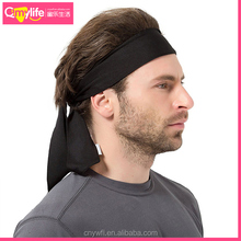 The bandage sports head sweatband and fitness headscarf running yoga headband