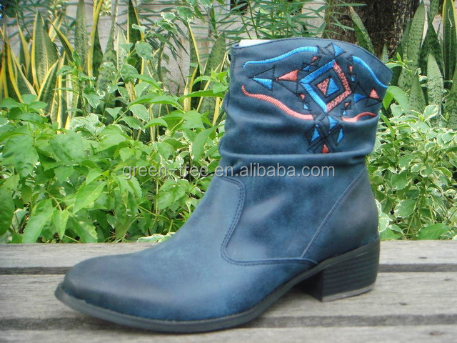 2015 newest winter half ankle boot wholesale china