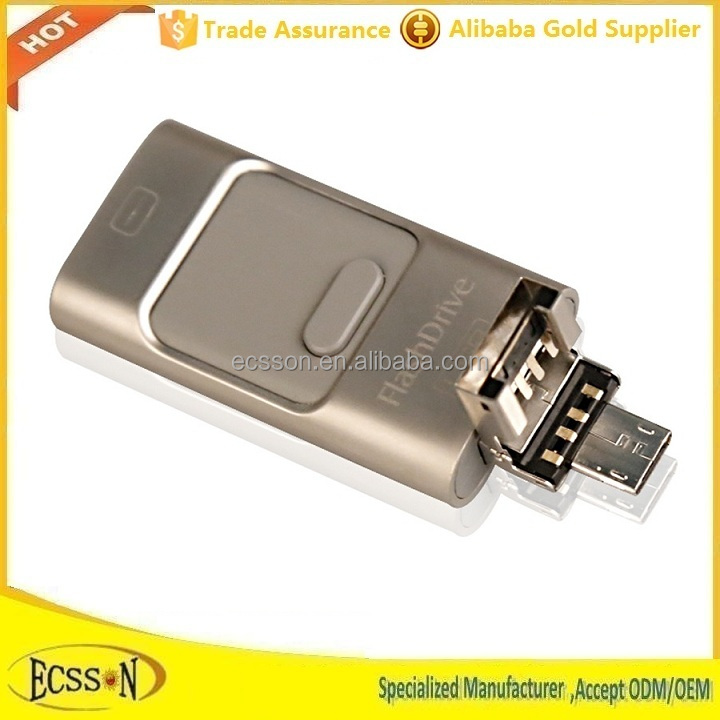 Top selling high-end usb flash drive 16gb for ipad , iphone , ipod and Android mobiles