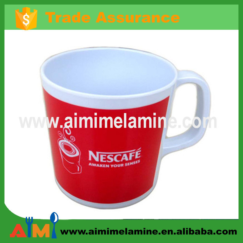 Melamine Cheap Coffee Mugs Red Tea Cup With Handle Buy