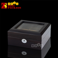 Personalized bulk wooden boxes china watch box with 6 slots